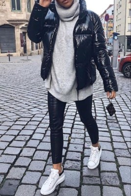 Attractive Sneakers Outfit Ideas For Fall And Winter18