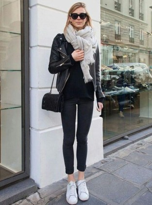 Attractive Sneakers Outfit Ideas For Fall And Winter36
