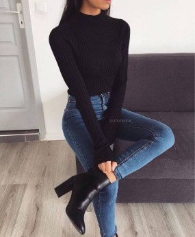 Charming Outfit Ideas That Perfect For Fall To Try16