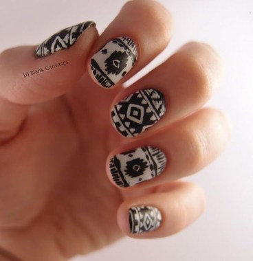 Cozy Aztec Nail Art Designs Ideas You Will Love To Copy05