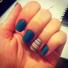 Cozy Aztec Nail Art Designs Ideas You Will Love To Copy14