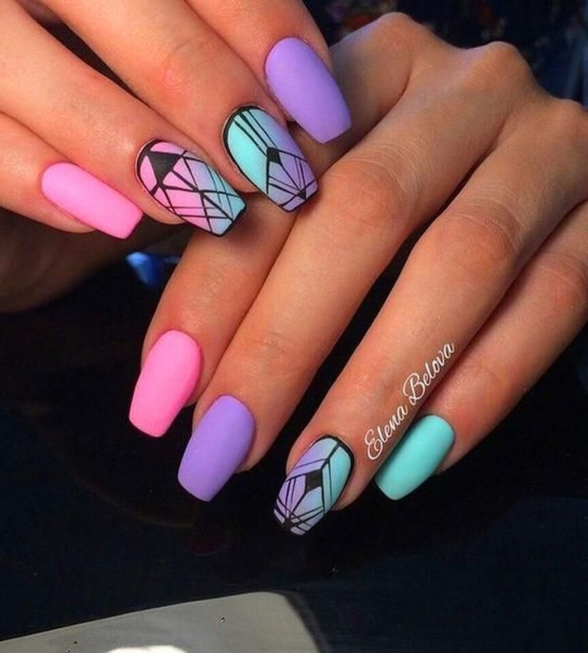 Cozy Aztec Nail Art Designs Ideas You Will Love To Copy19