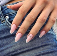 Cute French Manicure Designs Ideas To Try This Season06