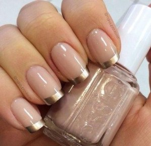 Cute French Manicure Designs Ideas To Try This Season13