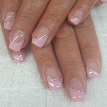 Cute French Manicure Designs Ideas To Try This Season31