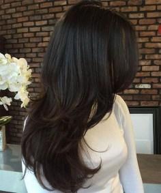 Elegant Brunette Hairstyles Ideas For Lovely Women09