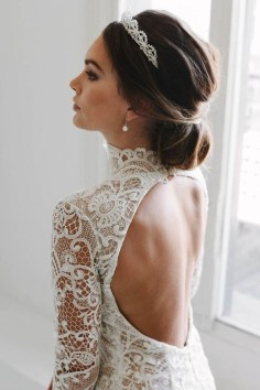 Elegant Wedding Hairstyle Ideas For Brides To Try06