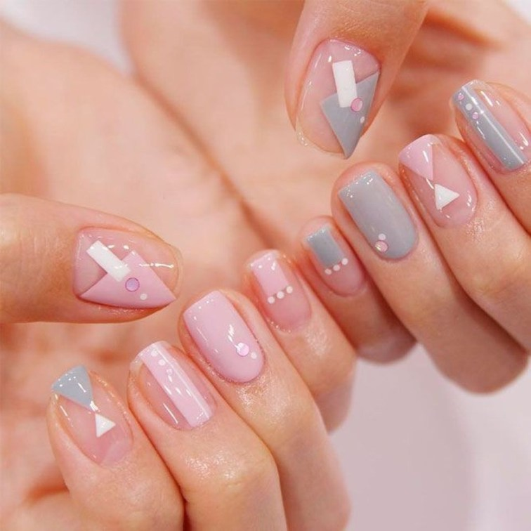 Fashionable Pink And White Nails Designs Ideas You Wish To Try40
