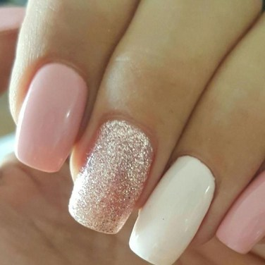 Fashionable Pink And White Nails Designs Ideas You Wish To Try41