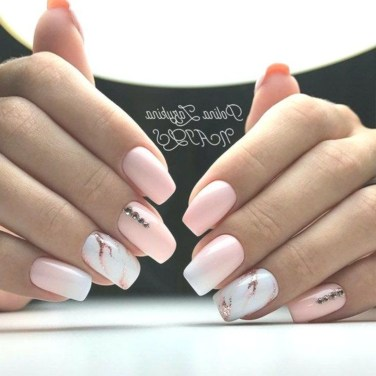 Fashionable Pink And White Nails Designs Ideas You Wish To Try42