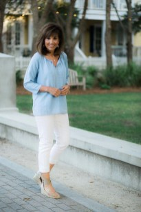 Inspiring Spring And Summer Outfits Ideas For Women Over 4040