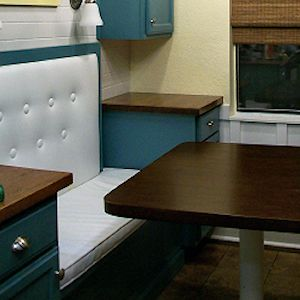 How To Build A Banquette Seat With Storage