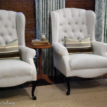 where to get chairs reupholstered standing office wingback addicted 2 decorating