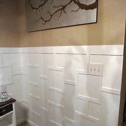 Modern Girl Bedroom Wallpaper Contemporary Wainscoting Addicted 2 Decorating 174