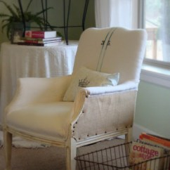 Reupholstering A Chair Wedding Covers Rental Beautifully Reupholstered French Country Style Addicted 2 Isn T