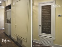 Turn An Ugly Hollow Core Door Into A Pretty Chalkboard