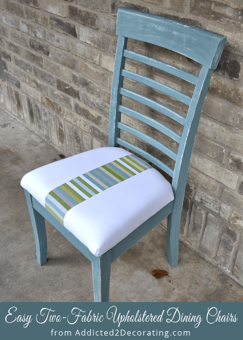 reupholster dining chair slim recliner chairs re reupholstered addicted 2 decorating well