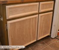 hallway bathroom  easy DIY cabinet doors