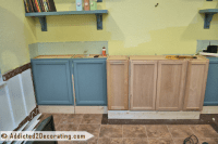 Living Room DIY Built-In Bookcases, Part 1