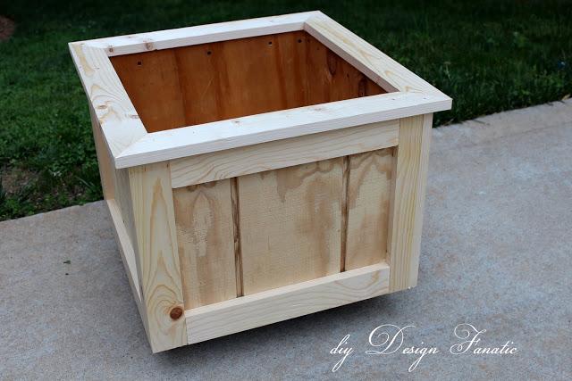 Patio Planter Box Plans