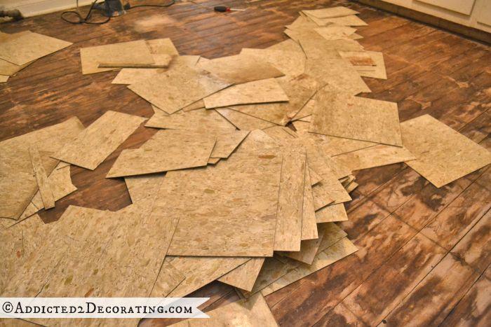 How To Remove Vinyl Flooring Adhesive From Subfloor