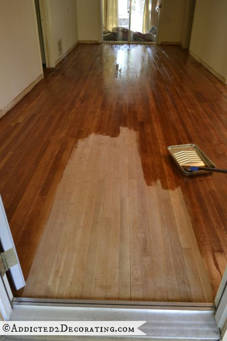 Waterlox Over Stain