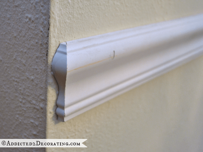 chair rail end cap joovy high tips for installing beautiful almost flawless trim molding moulding don t with a blunt 90 degree cut