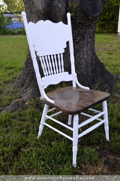 Pressback Chair Makeover