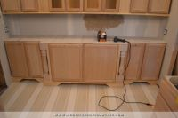 DIY Pour In Place Concrete Countertops  Part 1  Addicted ...