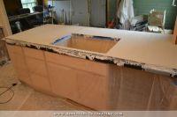 DIY Pour In Place Concrete Countertops  Part 2