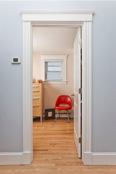 Fancy But Easy DIY Door Trim Design (Plus Seven Design