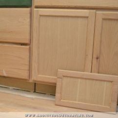 Roll Up Cabinet Doors Kitchen Storage Ideas For Small Spaces Peninsula Drawer Front Makeover (from Flat Panel To ...