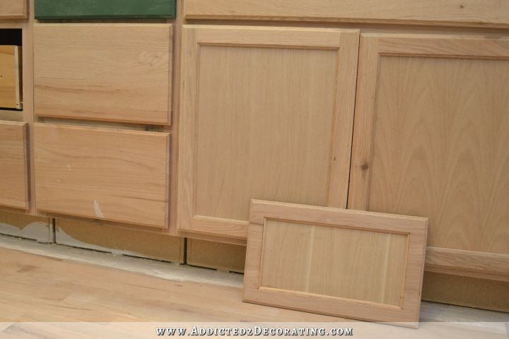 roll up cabinet doors kitchen chairs set of 4 peninsula drawer front makeover (from flat panel to ...