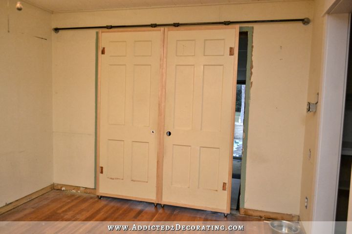 Cheap DIY Barn Door Hardware (Under $60)