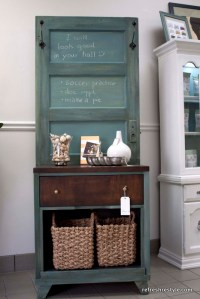 decorating old wooden doors | just b.CAUSE