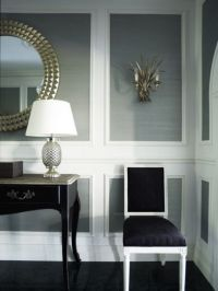 Wall Molding With Wallpaper
