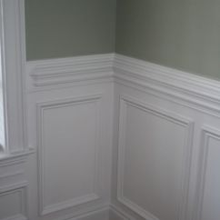 Chair Moulding Ideas Eames Reproduction Beautiful Molding Wall Trim For My Living Room And Entryway Traditional Wainscoting With Contrasting Color Above The Rail