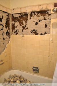 Hallway Bathroom Demolition Day 1 - Addicted 2 Decorating