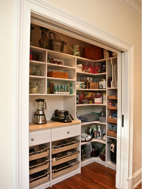 What Would Your Dream WalkIn Pantry Look Like  Addicted