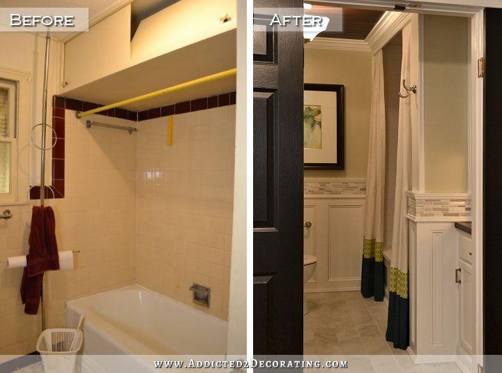 Hallway Bathroom Remodel Before Amp After Addicted 2