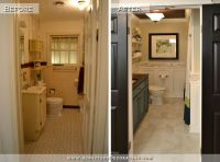 Hallway Bathroom Remodel: Before & After  Addicted 2 ...
