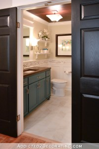 Hallway Bathroom Remodel: Before & After - Addicted 2 ...