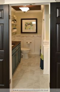 Where Should The Wainscoting Go?
