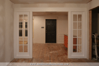 My Finished Stationary French Door Panels - Addicted 2 ...