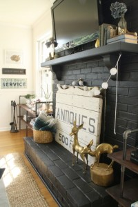 Beautiful Dark Gray & Black Fireplaces