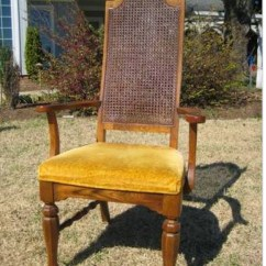 Dining Chairs With Caning Small White Chair Makeover Options Addicted 2 Decorating Cane Back From Blesser House Before