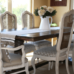 Dining Chairs With Caning Nook Tables And Chair Makeover Options Addicted 2 Decorating From La Tee Da Kids Blog