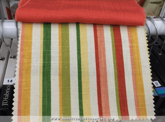 Plaid Jacquard Woven Curtain Fabric Home Decor Fabrics Online