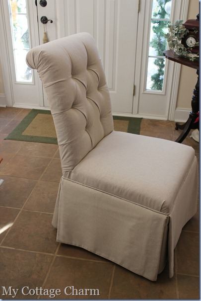 Tufted Parsons Dining Chair