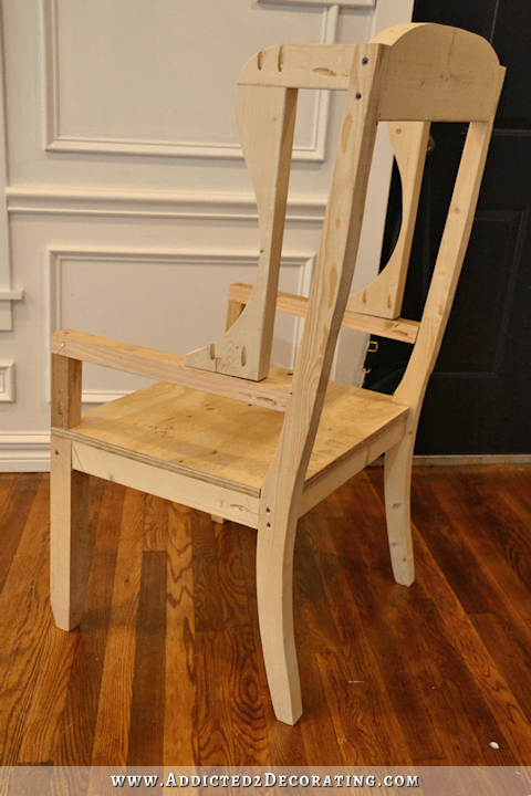 How To Build A DIY Chair Frame  Addicted 2 Decorating